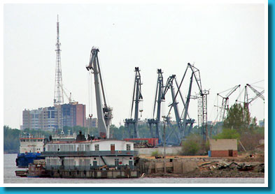 The Astrakhan port